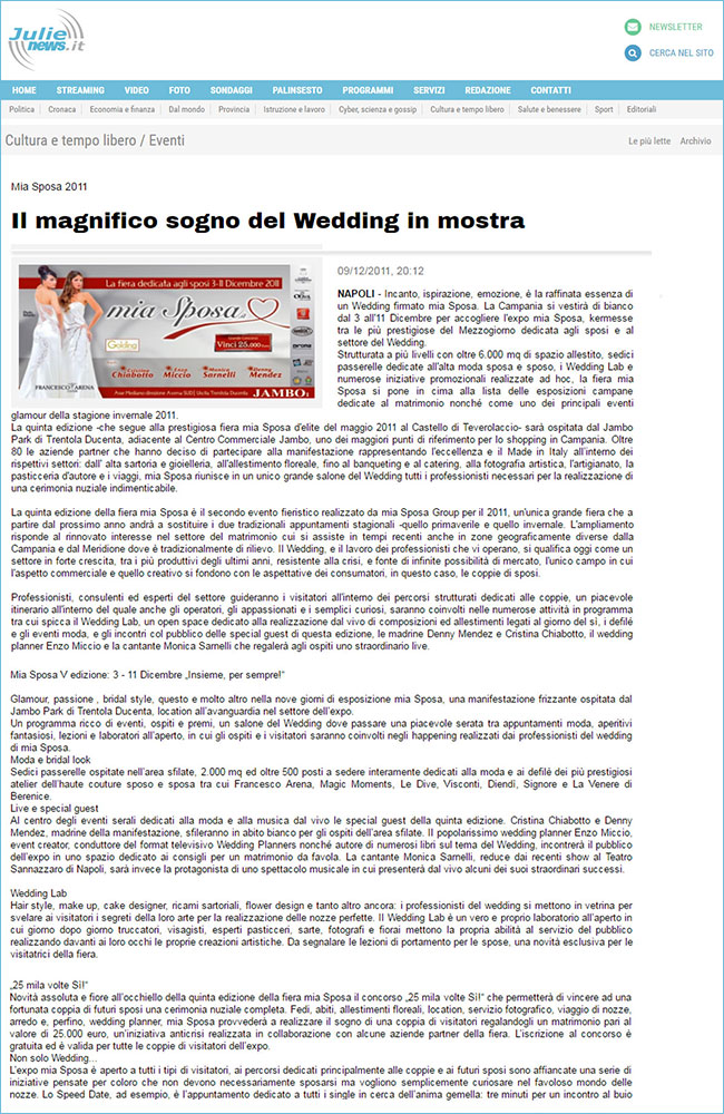 fiera-sposi_press-2011_Julie-News