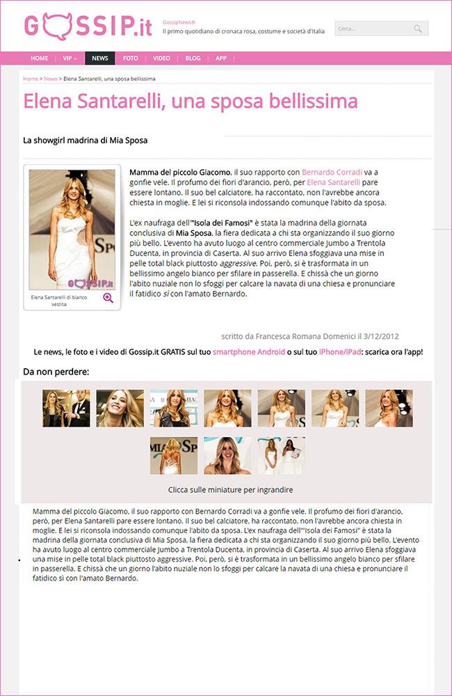 fiera-sposi_press-2012_Elena-Santarelli-Gossip