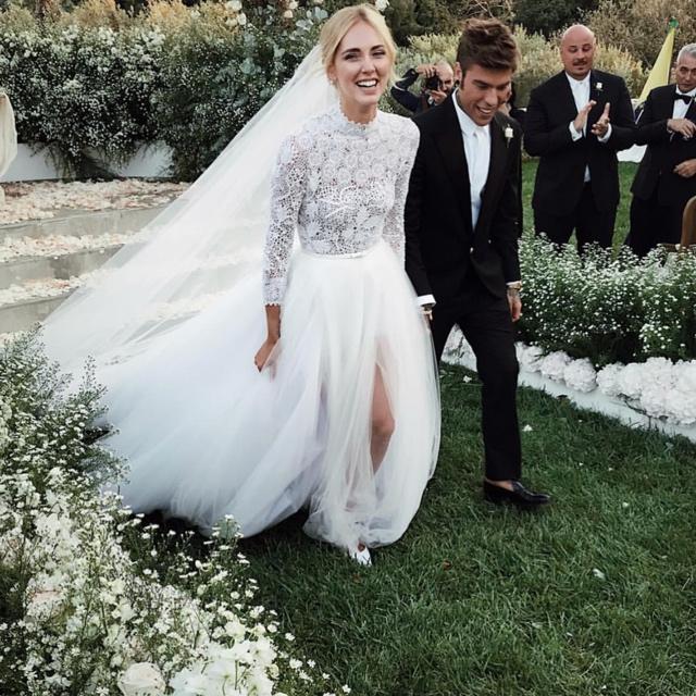 Chiara ferragni e Fedez - Matrimonio